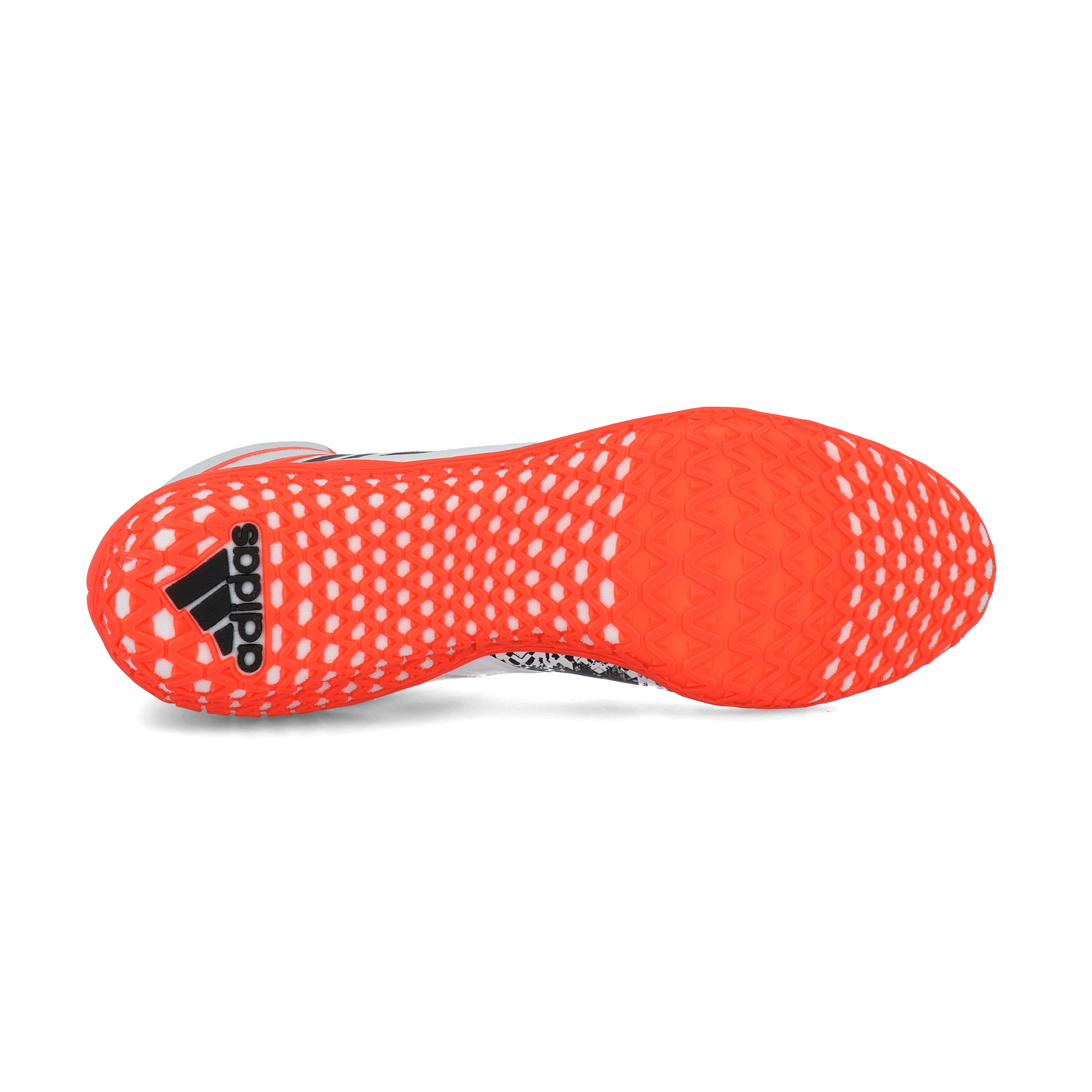 Dettagli su adidas Uomo Flying Impact Scarpe Da Ginnastica Lotta Sport Nero Arancione Bianco