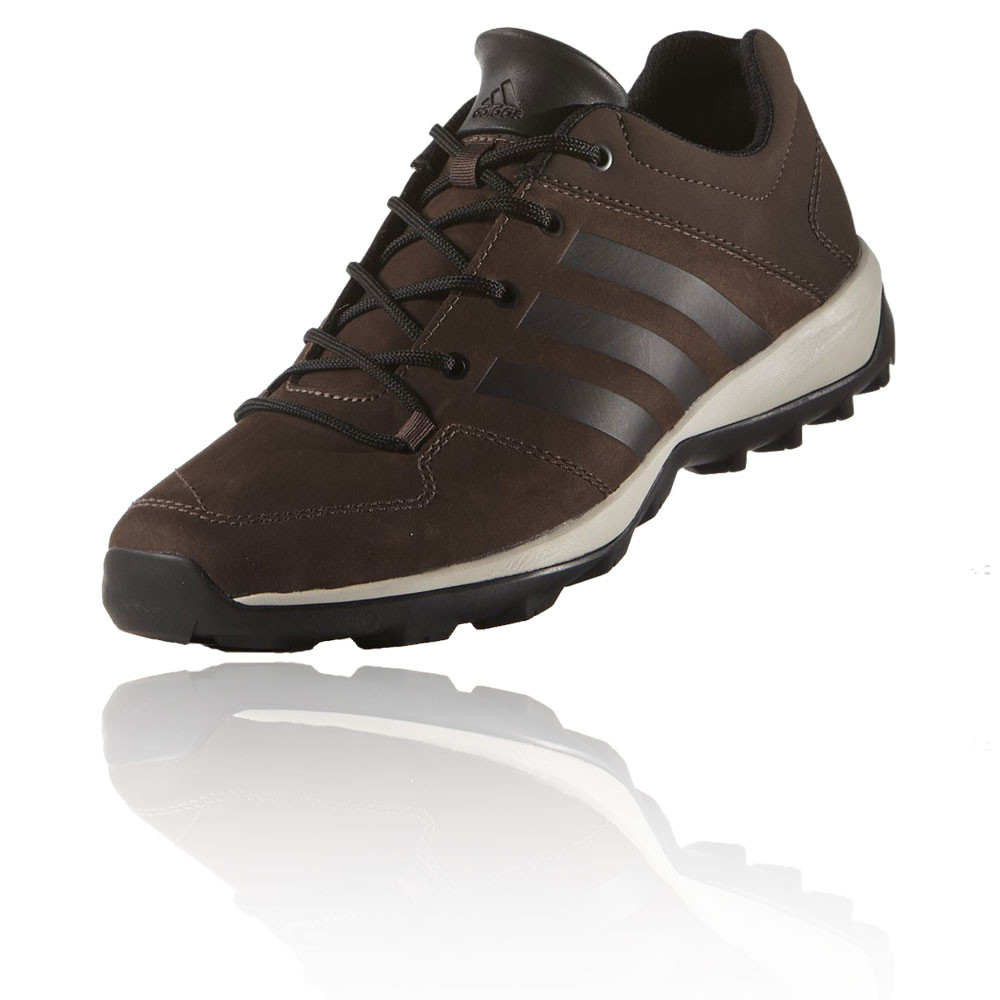 Adidas Daroga Plus Leather Mens Brown Water Resistant