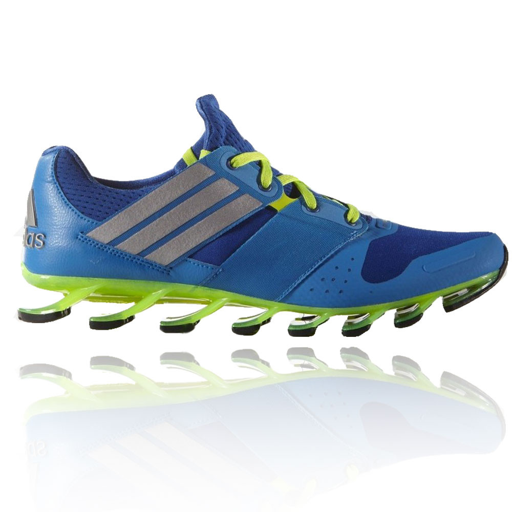 Adidas Springblade Solyce Mens Blue Running Road Sports