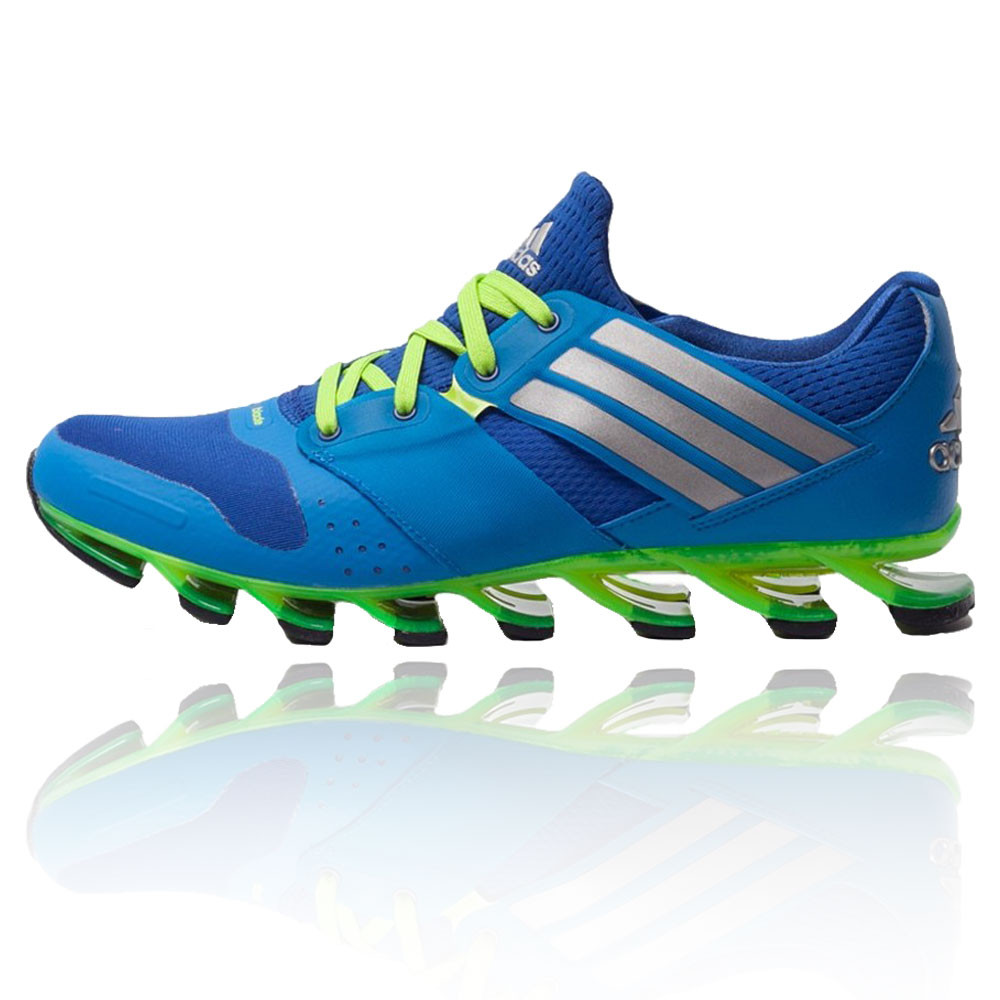 Adidas Galaxy  Blue And Black Running Shoes