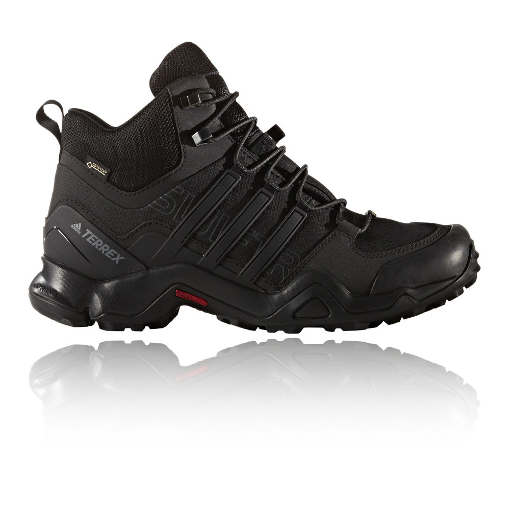 various colors faddb dcaae Details about Adidas Terrex Swift R Mid Mens Black Gore Tex Hiking Walking  Boots Shoes