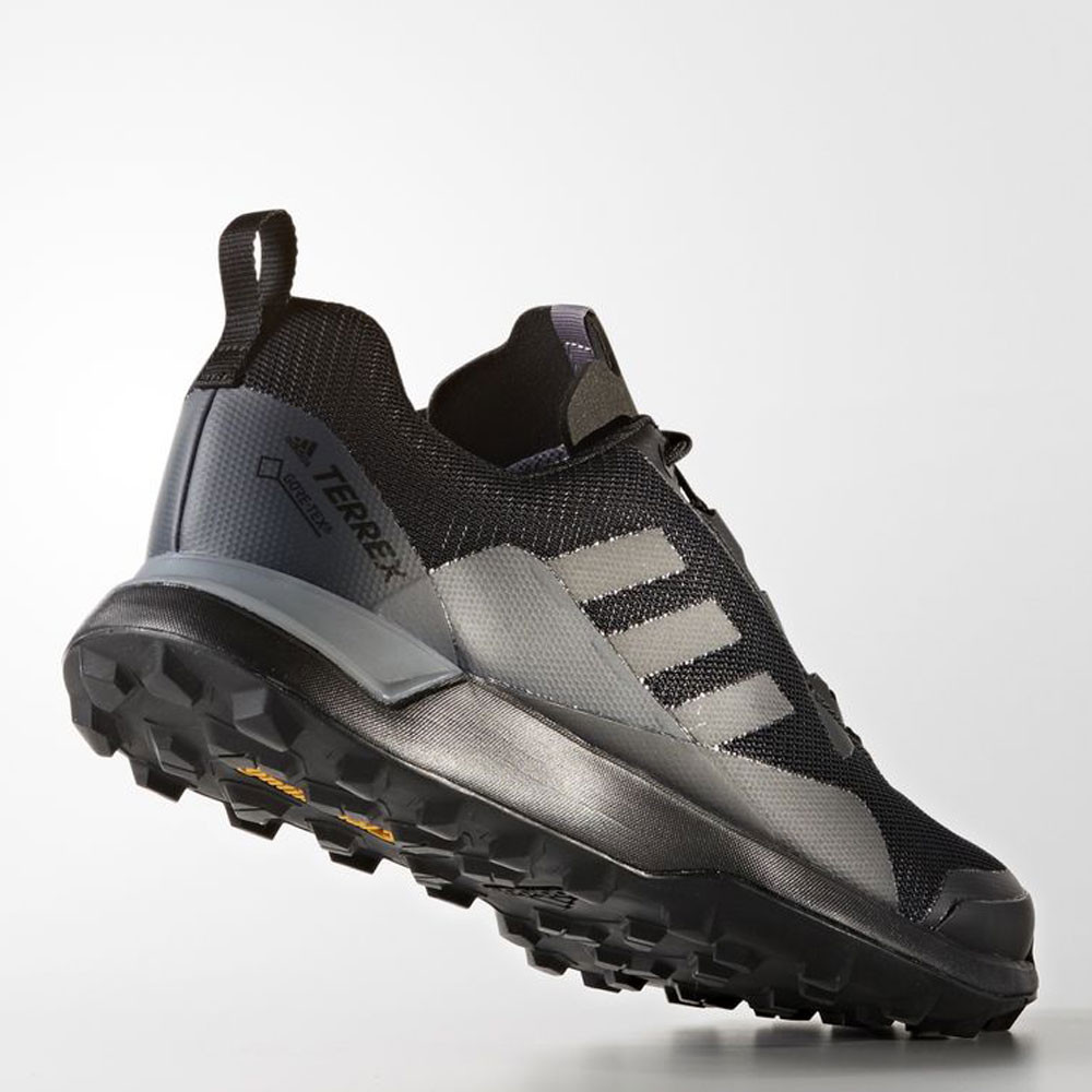 b9c480d3f43 adidas Mens Black Terrex CMTK GTX Trail Running Sports Shoes Trainers  Sneakers