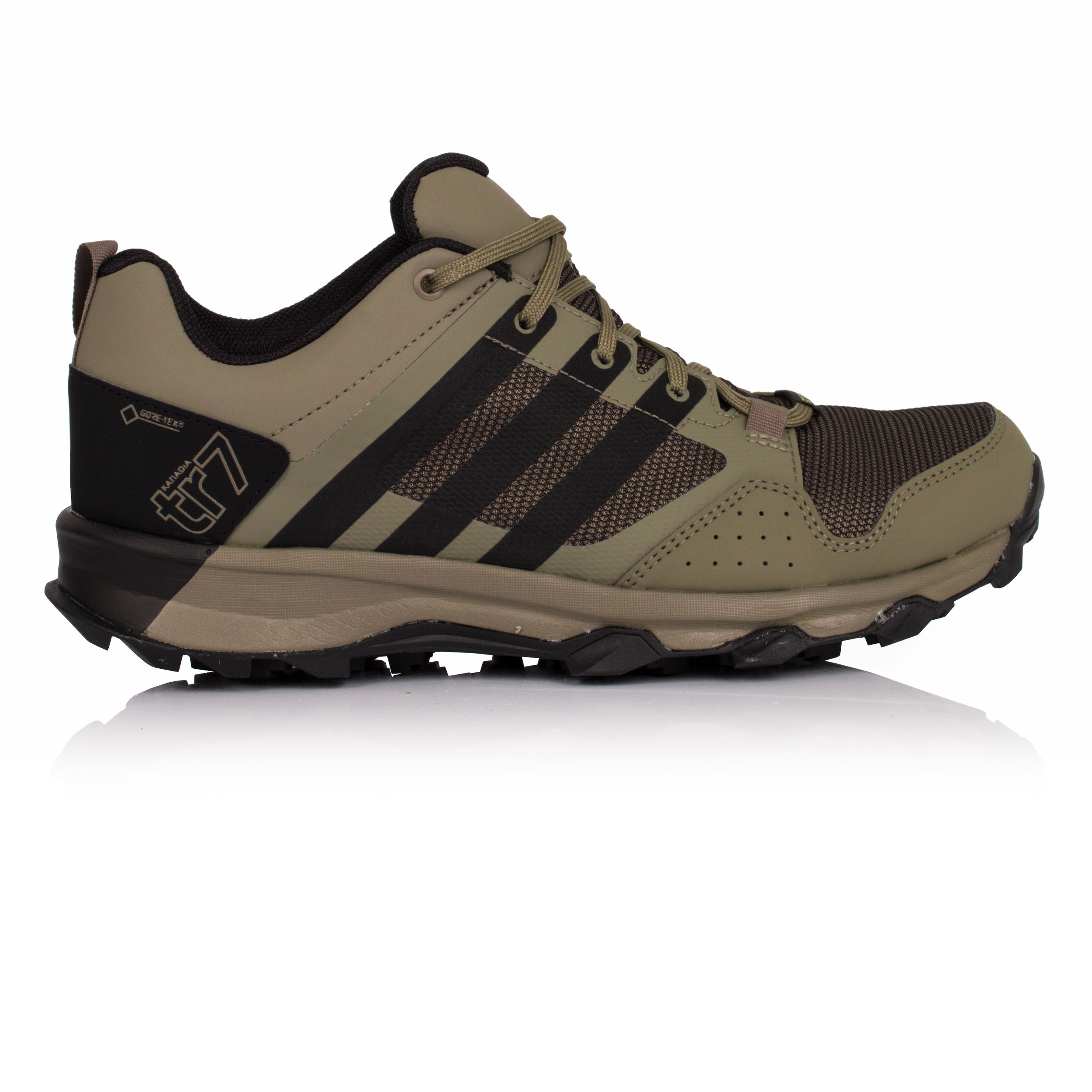 sabor dulce prisión esposa  Adidas Kanadia 7 TR Mens Green Gore Tex Running Sports Shoes Trainers Pumps  | eBay