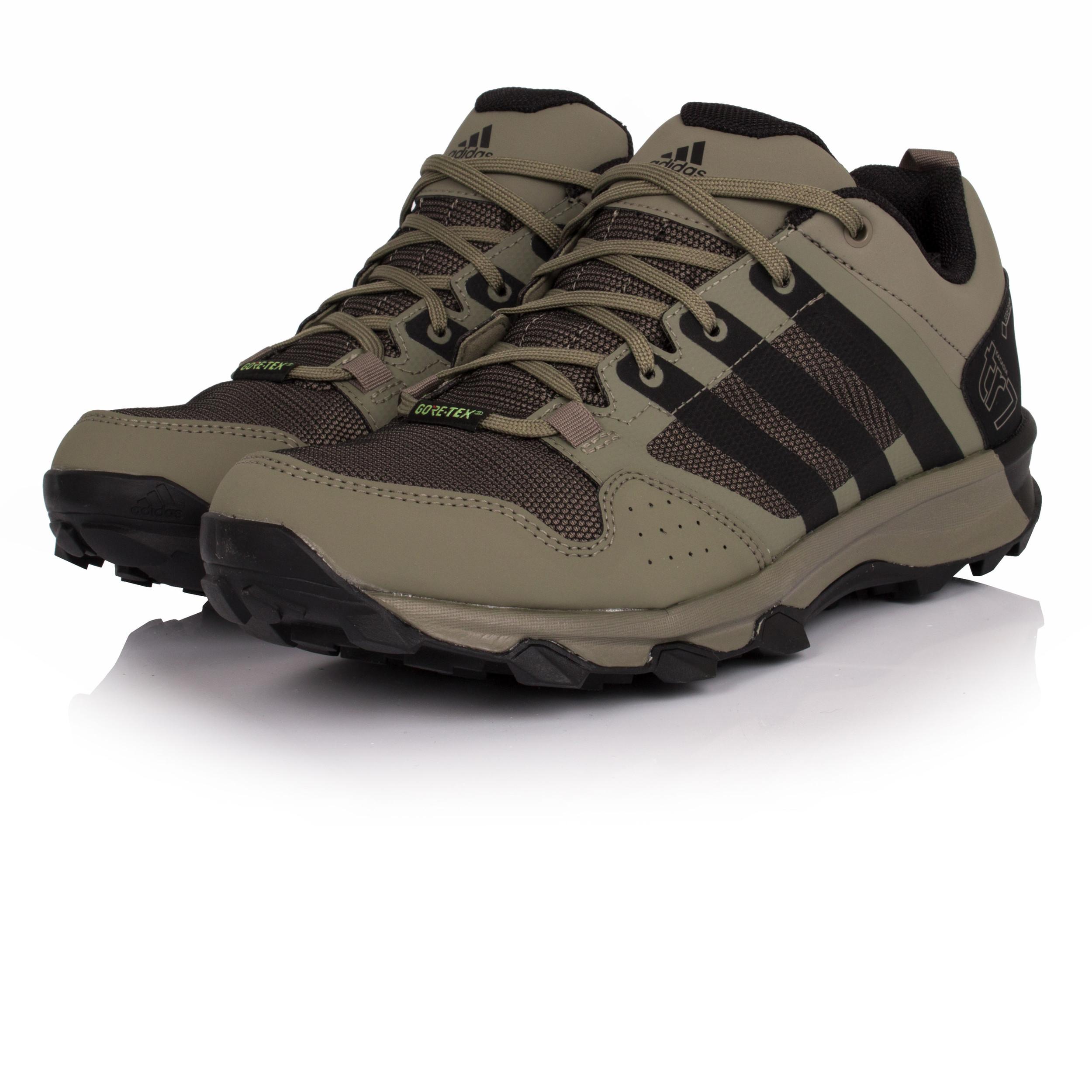 hot sale online 44e9a 42fa0 Adidas Kanadia 7 TR Mens Green Gore Tex Running Sports Shoes Trainers Pumps    eBay