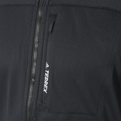 adidas Terrex Tracerocker Hooded Fleece Top - AW19