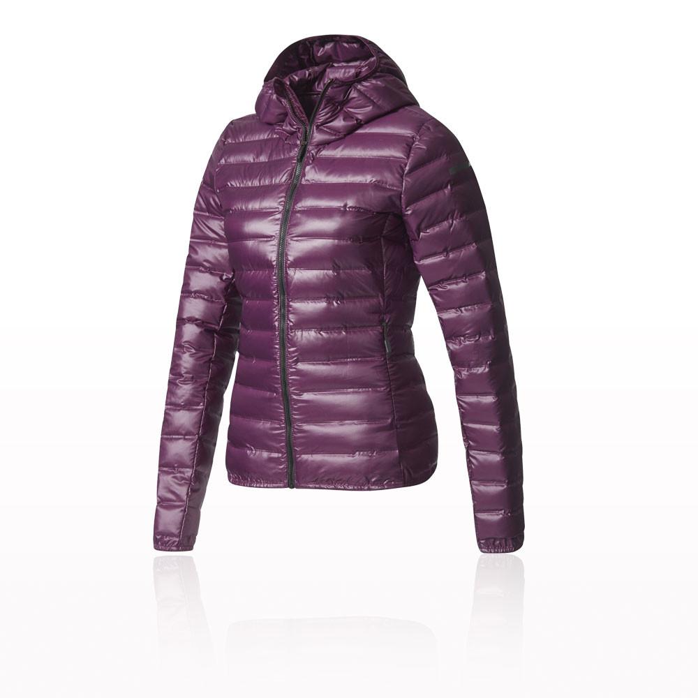 chaqueta con capucha adidas terrex lite down