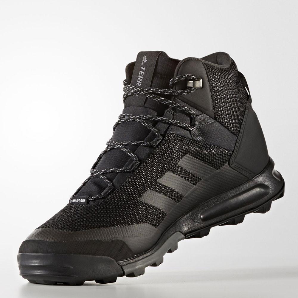 372ca1361f2f adidas Mens Black Terrex Tivid Mid CP Upper Sports Walking Shoes Trainers
