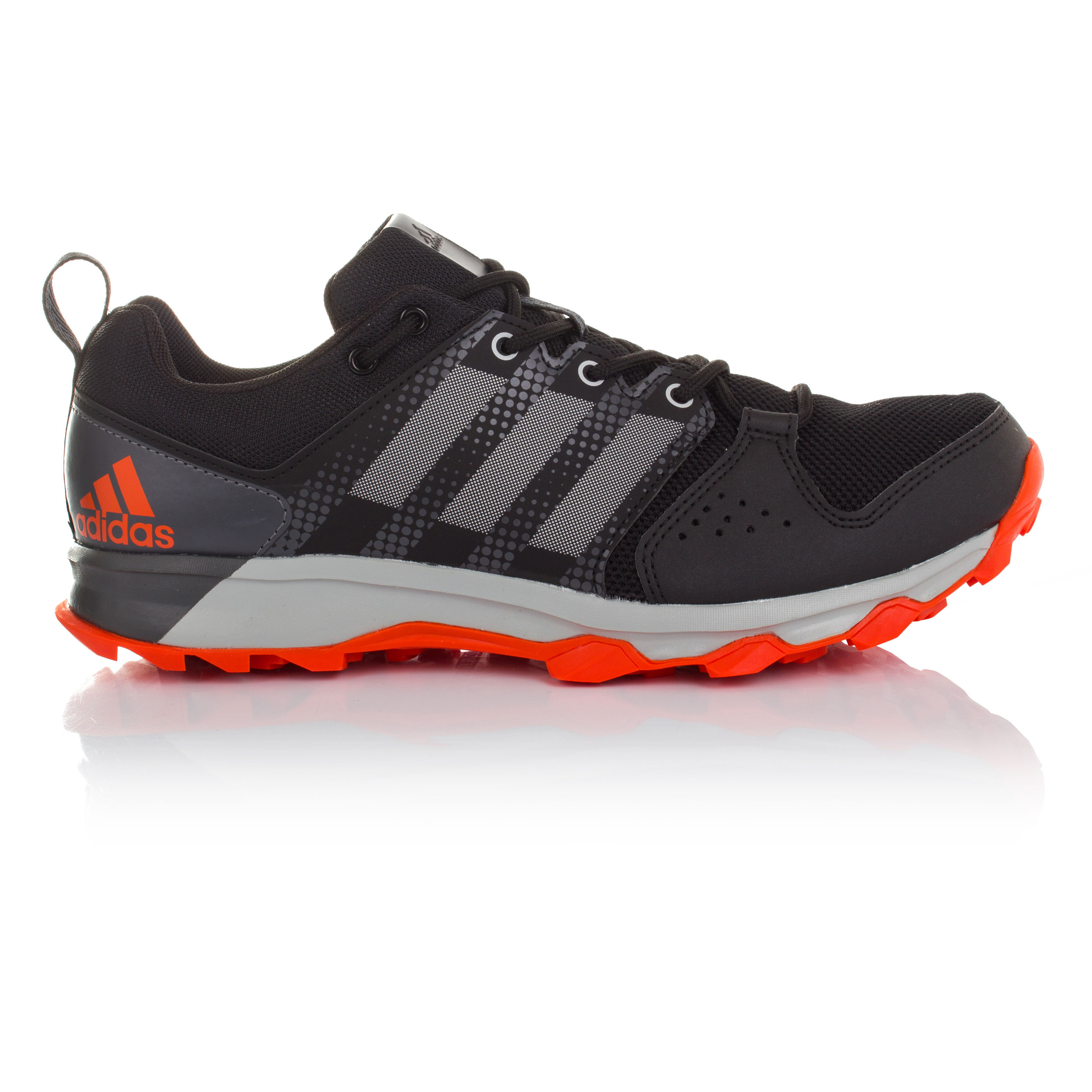 Adidas Galaxy Mens Grey Black Trail Running Sports Shoes