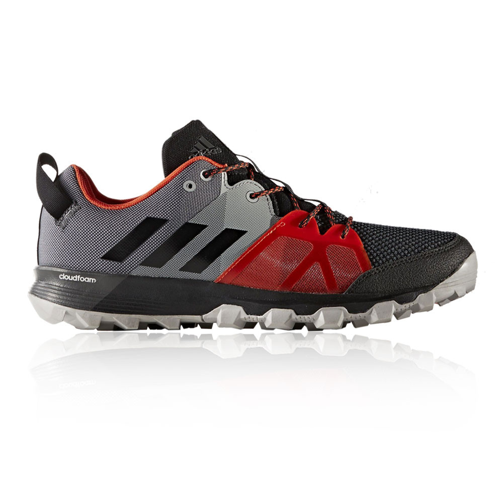 Adidas Kanadia 8.1 Mens Grey Black Trail Running Sports