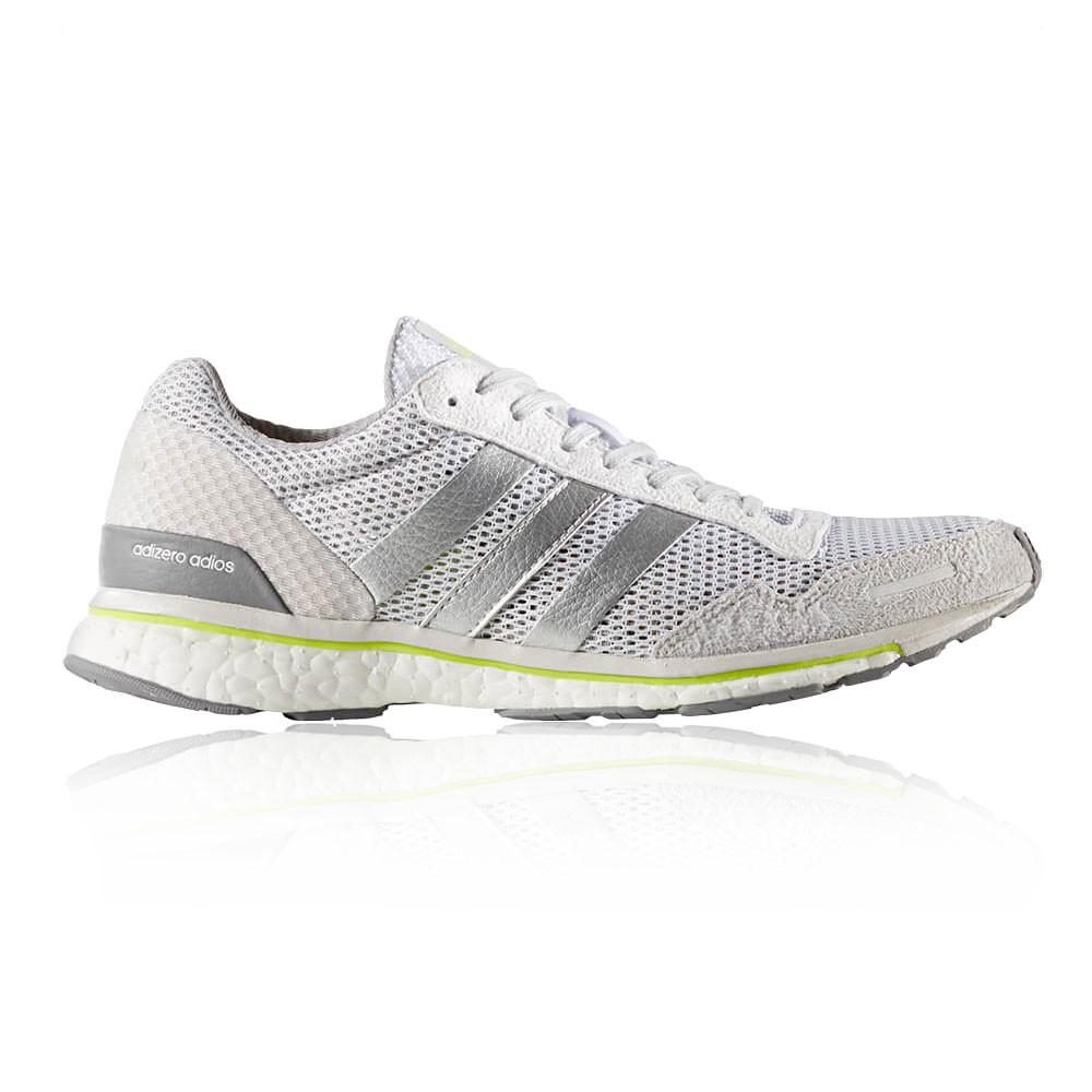 Adidas Tennis Shoes White Silver