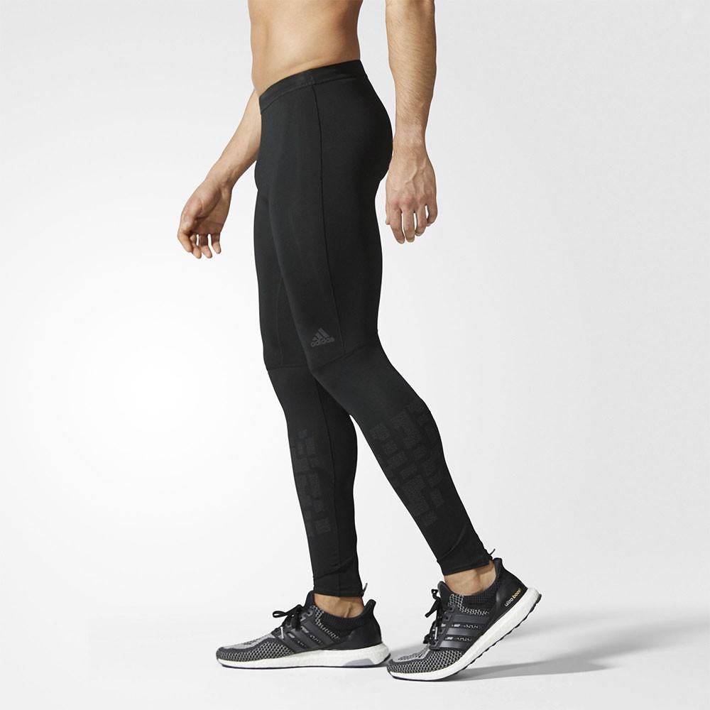 d05fdb41e6ea0 adidas Uomo Supernova Collant Lungo Leggings Pantaloni Sport Corsa Nero