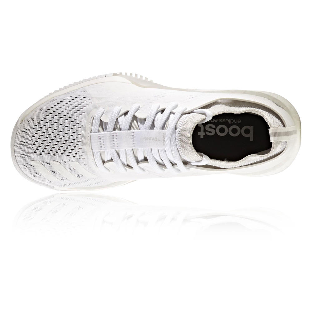 the best attitude b32f9 3b776 Adidas CrazyTrain Elite Womens White Training Sports Shoes Trainers Pumps