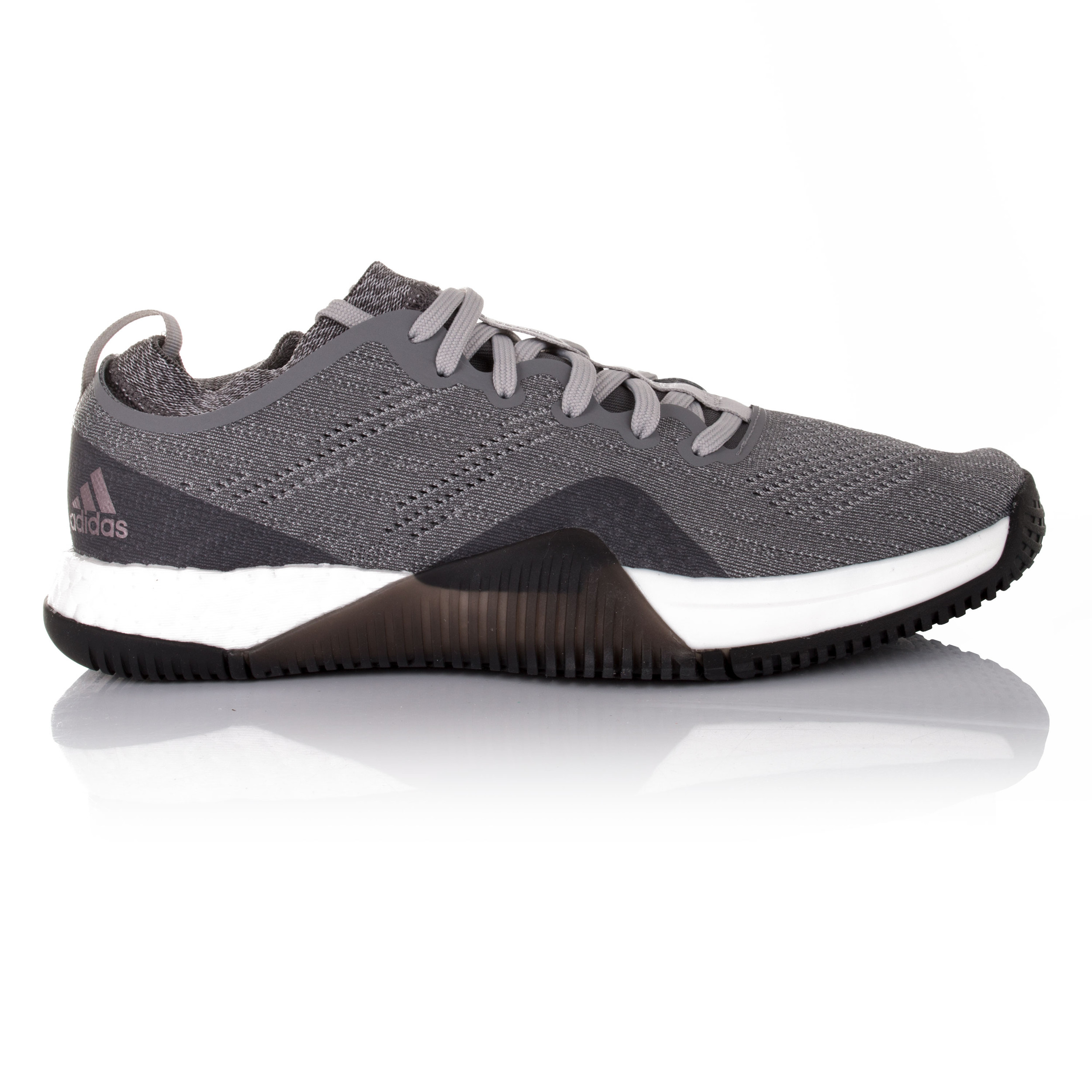 pretty nice b7b8e 3c2a1 Details about Adidas Crazy Train Elite Womens Grey Training Gym Sports Shoes  Trainers