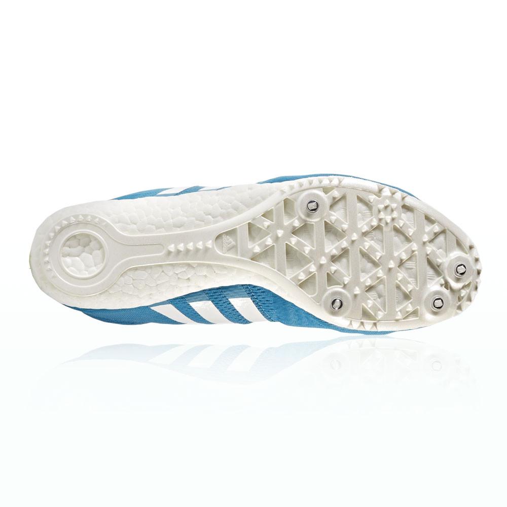 huge selection of 2cb6d 34083 Adidas Hombre Azul Adizero Avanti Correr Zapatillas Clavos Zapatos Deporte