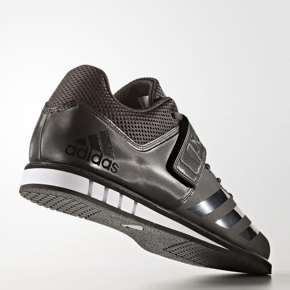 adidas powerlift mens nero di sollevamento pesi le scarpe sportive dei formatori
