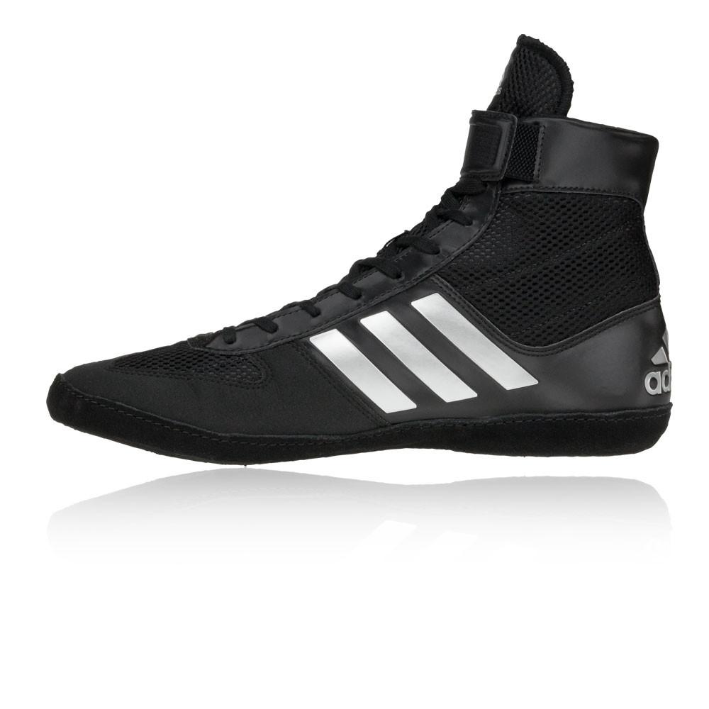 the latest 2e329 87b24 Adidas Hommes Noir Combat Speed 5 Chaussures De Sport Microporeux Ultraléger