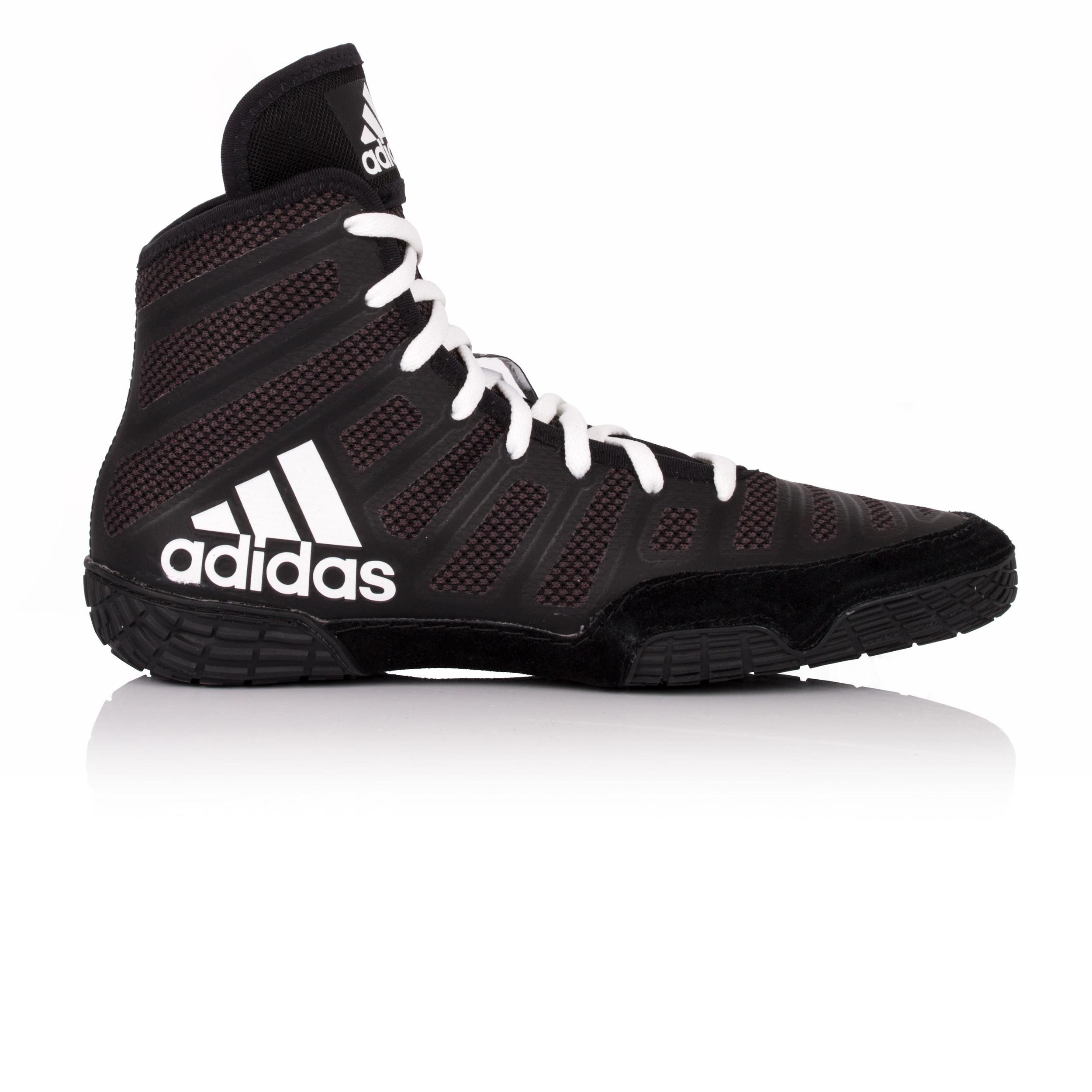 adidas herren schwarz varner schuhe ringerstiefel wrestling stiefel sportschuhe ebay. Black Bedroom Furniture Sets. Home Design Ideas
