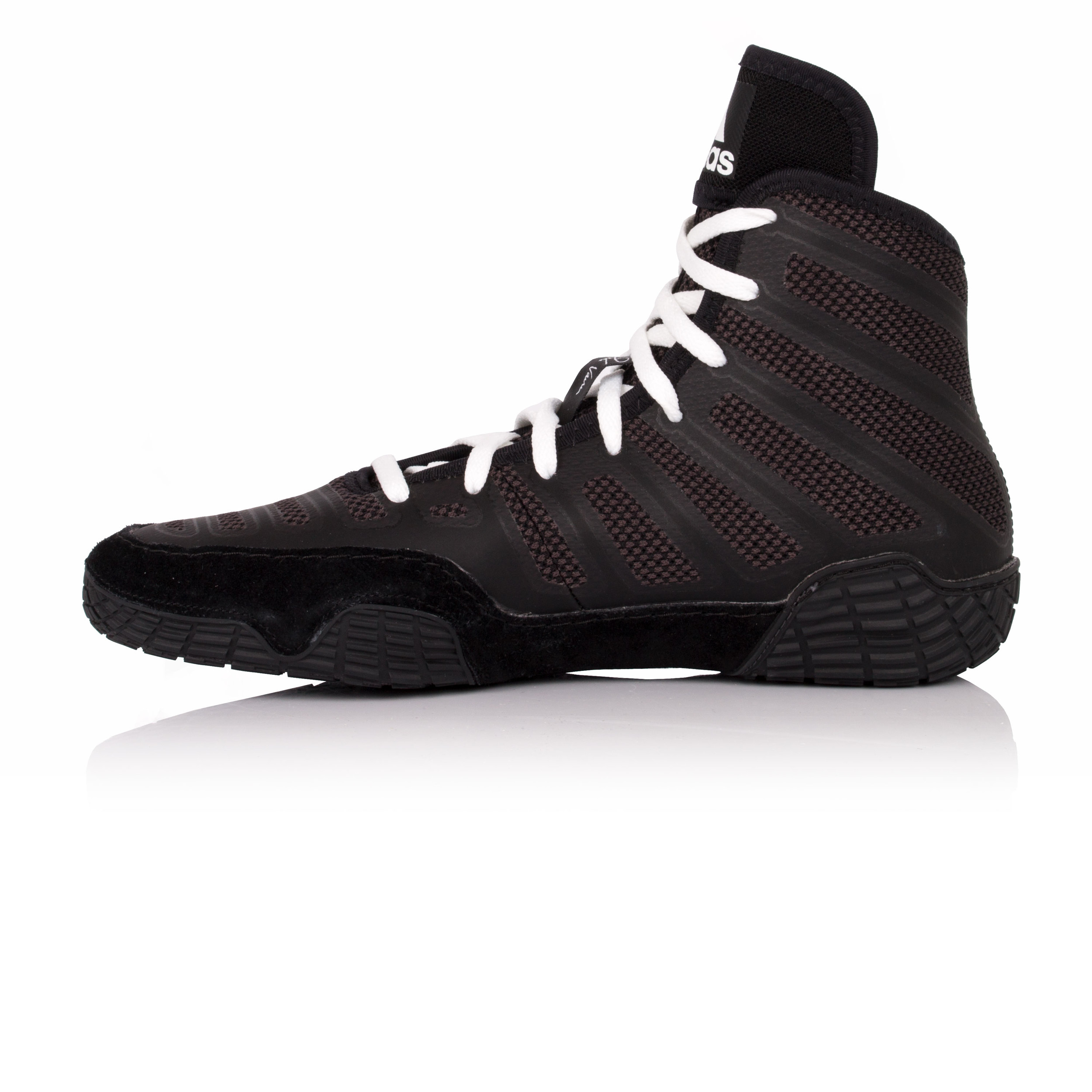 check out 70ae4 fdba0 Adidas Hombre Negro Varner Wrestling Botas Zapatos Zapatillas Calzado  Deporte