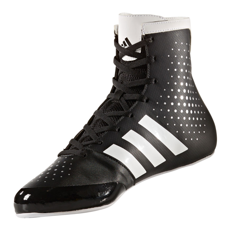 Adidas KO Legend Boxing Shoes Boots Blue /& White Lace Up