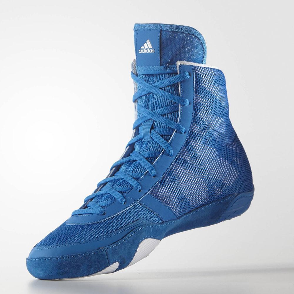 quality design 9b701 42748 Adidas Hombre Azul Pretero III Wrestling Zapatos Zapatillas Calzado Deporte