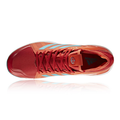 adidas Hockey Lux Red Aqua Shoes