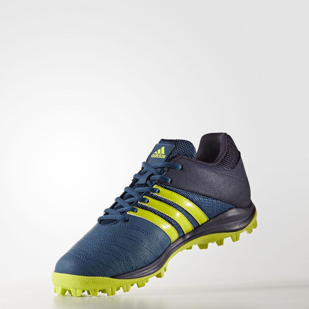 Adidas Srs  M Hockey Shoes Blue Yellow