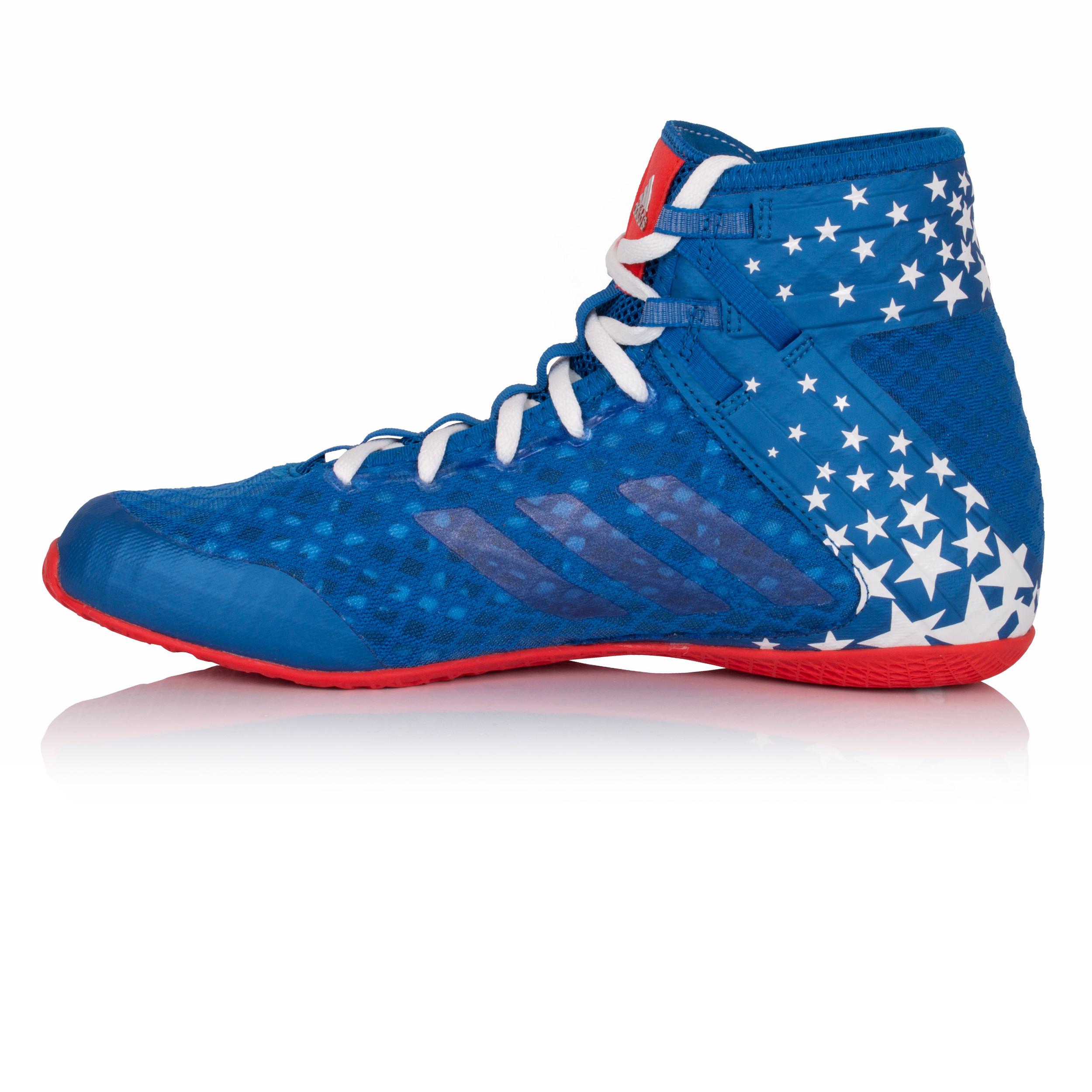 Adidas Speedex 16 1 Ltd Mens Red Blue Boxing Training