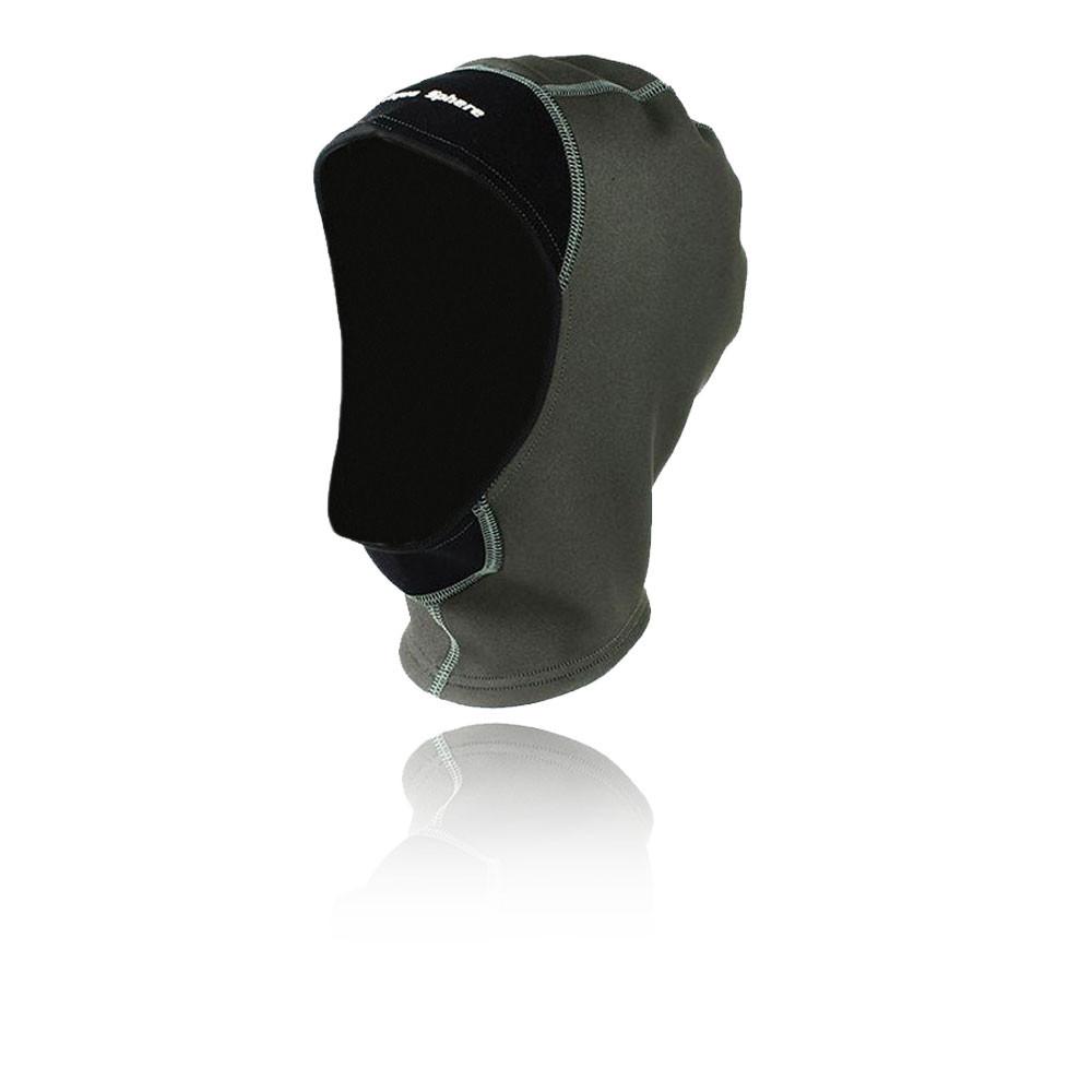 2abbf25b7086 Details about Aqua Sphere Unisex Grey Water Resistant Swimming Head Wear  Hood Balaclava