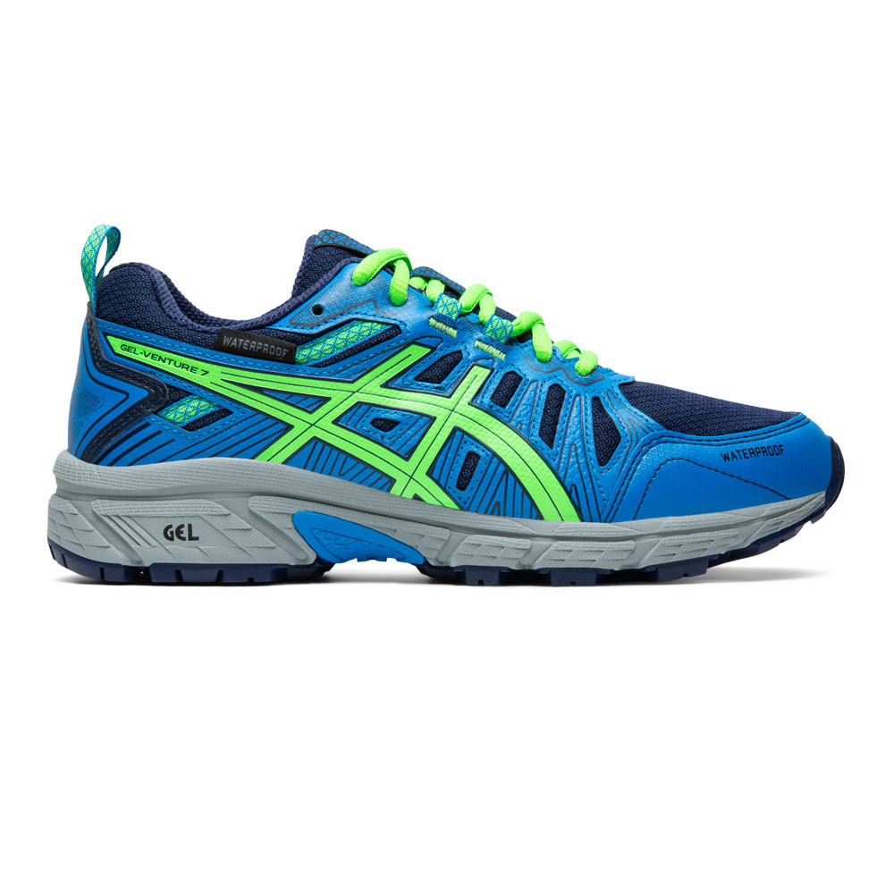 ASICS Gel Venture 7 Waterproof GS Junior Trail Running Shoes SS20