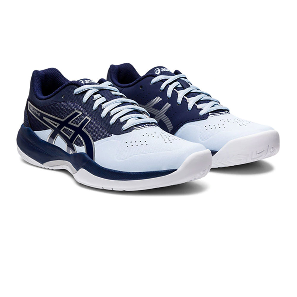 asics womens running shoes navy womens