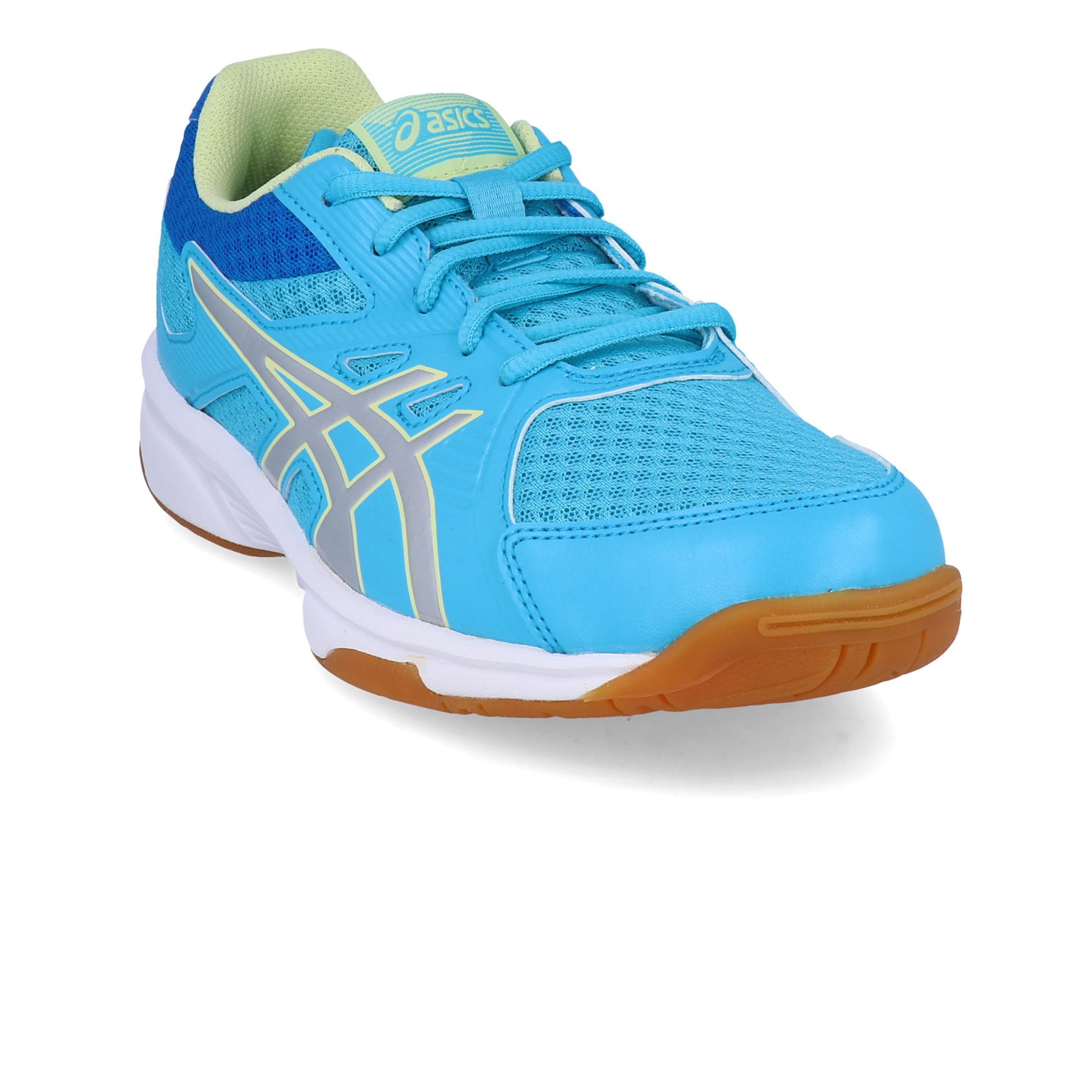 Asics Junior Pre-Upcourt PS Indoor Court Shoes Purple Sports Handball Trainers