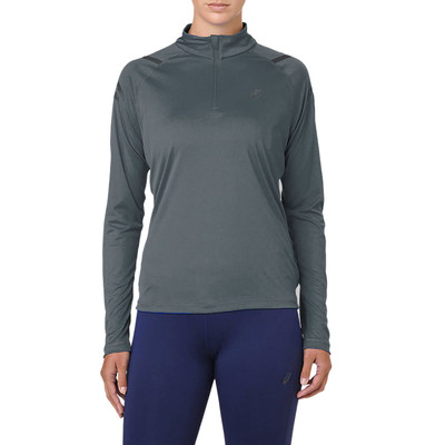 ASICS Icon Long Sleeved Half Zip Women's Top