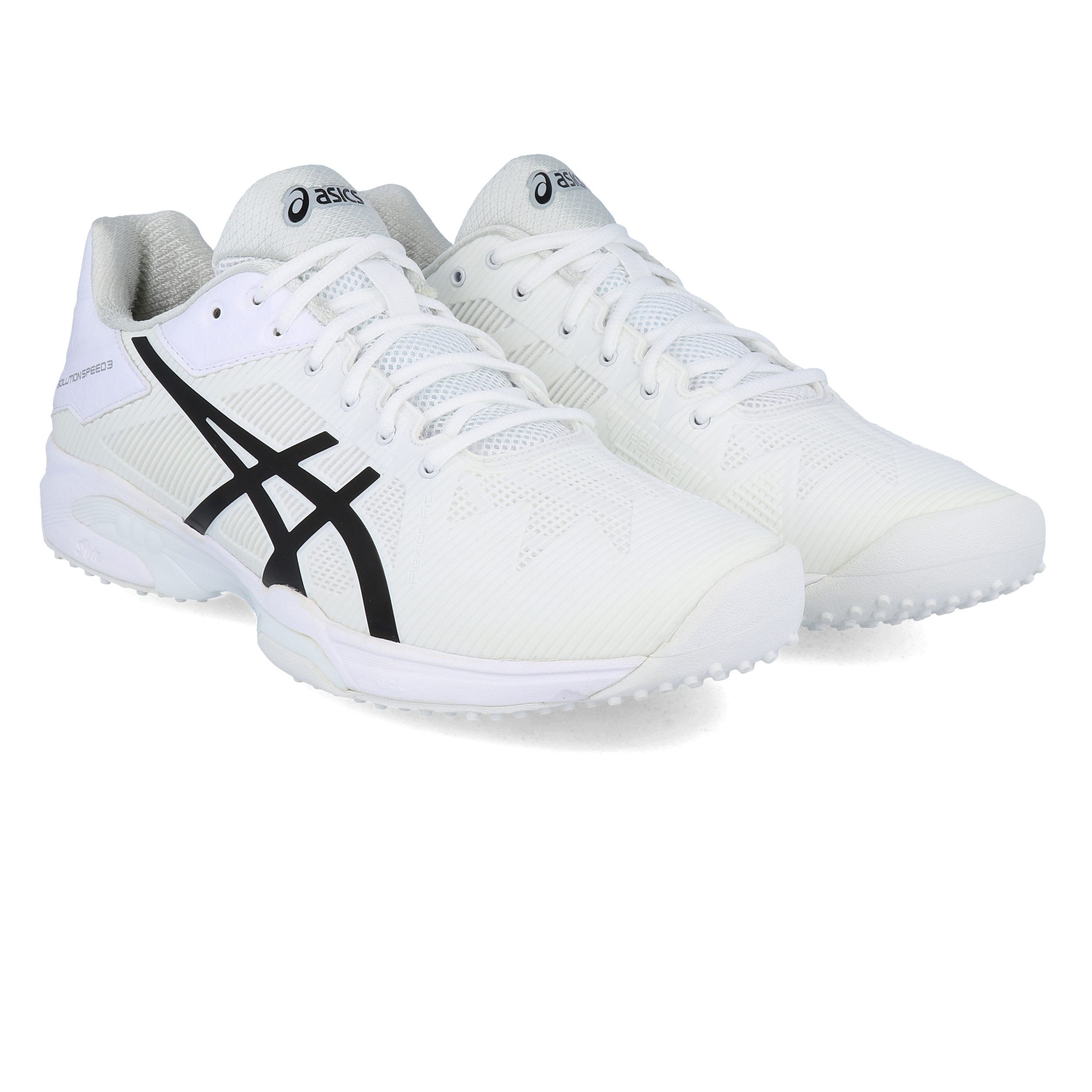 Details about Asics Womens Gel-Solution Speed 3 Grass Court Tennis Shoes  White Sports