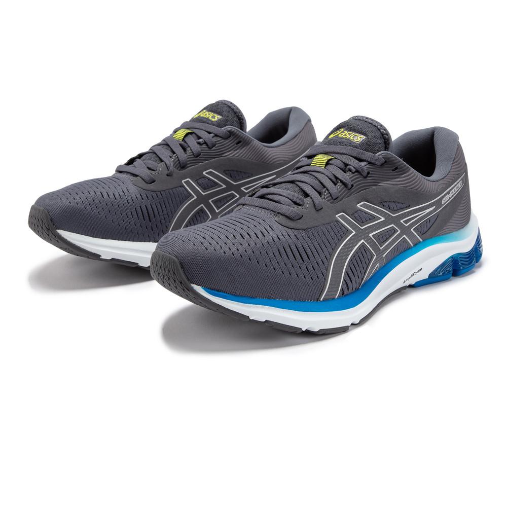 miniature 27 - Asics-Homme-Gel-Pulse-12-Chaussures-De-Course-Baskets-Sneakers-Bleu-Marine-Sports