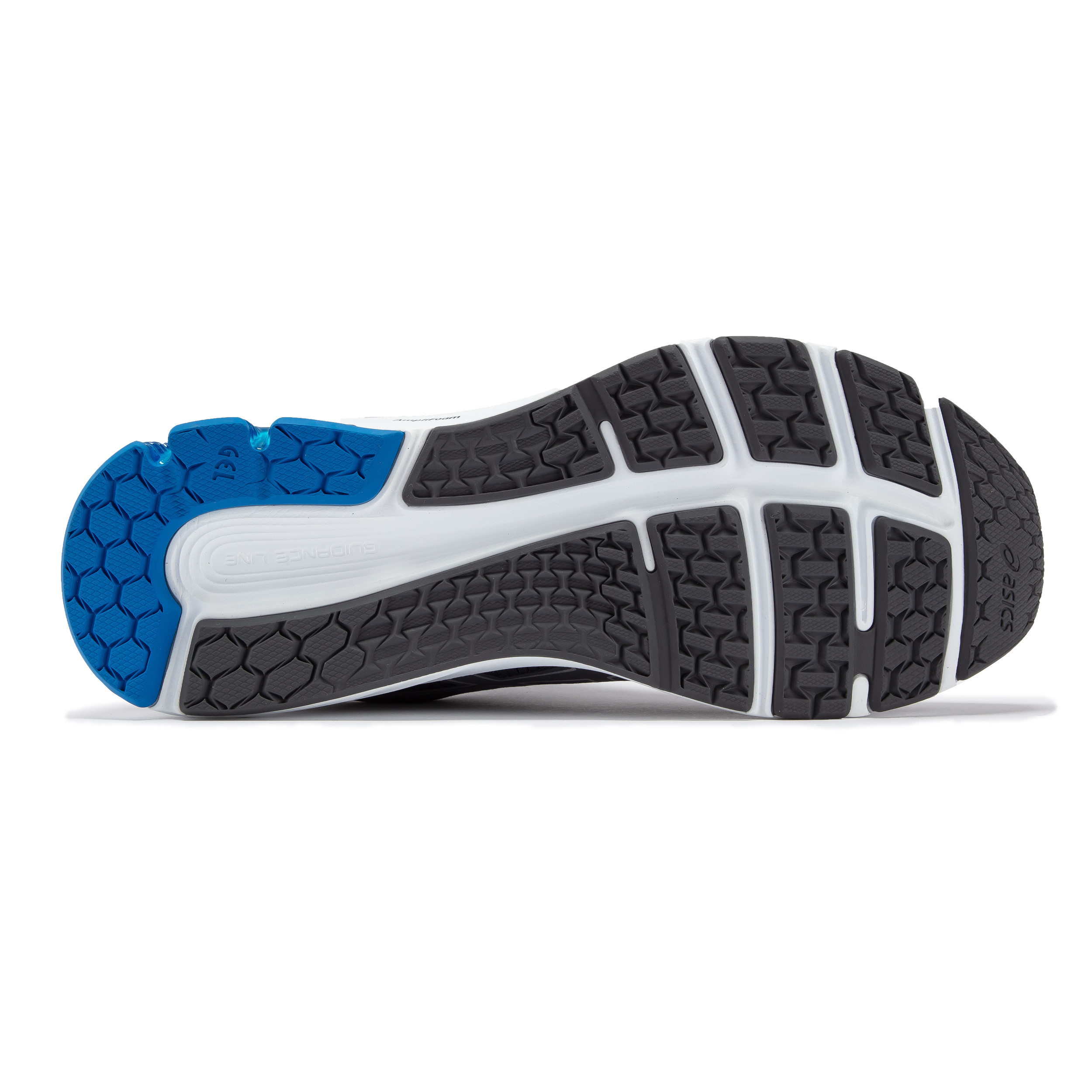 miniature 3 - Asics-Homme-Gel-Pulse-12-Chaussures-De-Course-Baskets-Sneakers-Bleu-Marine-Sports
