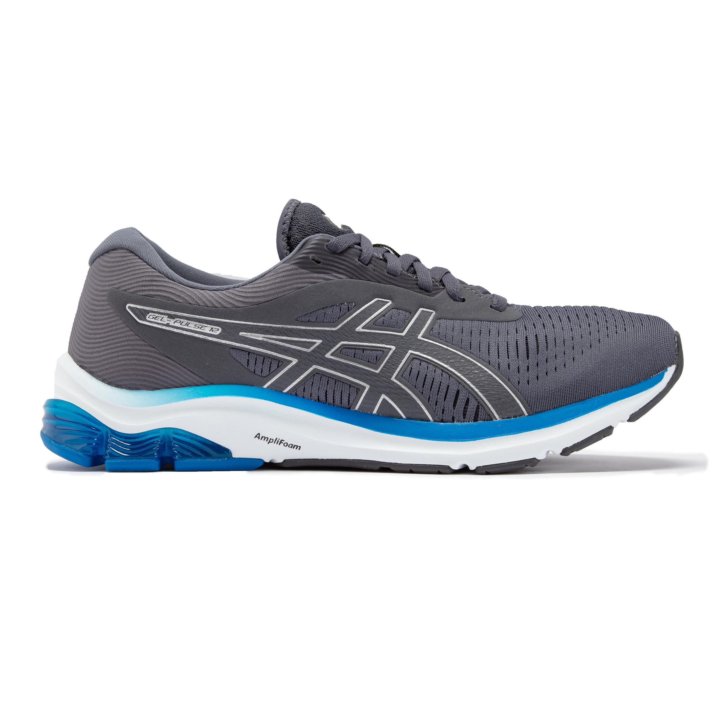 miniature 4 - Asics-Homme-Gel-Pulse-12-Chaussures-De-Course-Baskets-Sneakers-Bleu-Marine-Sports