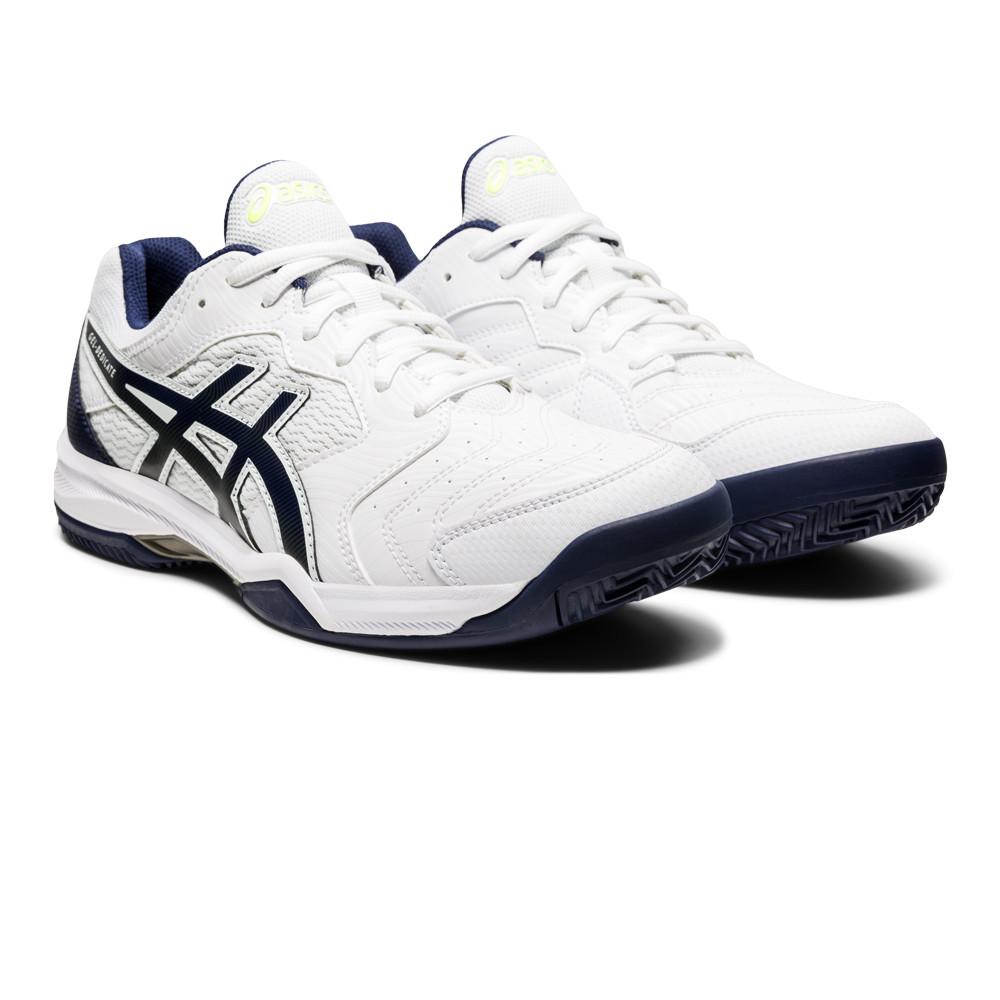ASICS GEL DEDICATE 6 CLAY Tennisschuhe Herren white black im