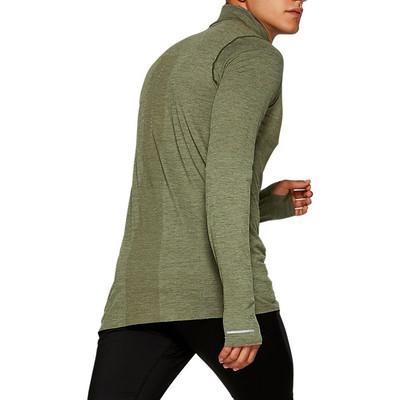 ASICS sans couture demi zip t-shirt running