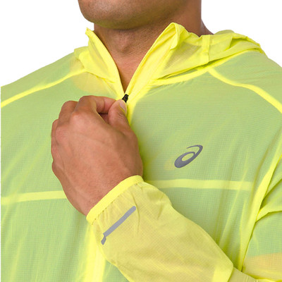 Asics Packable Hooded Running Jacket