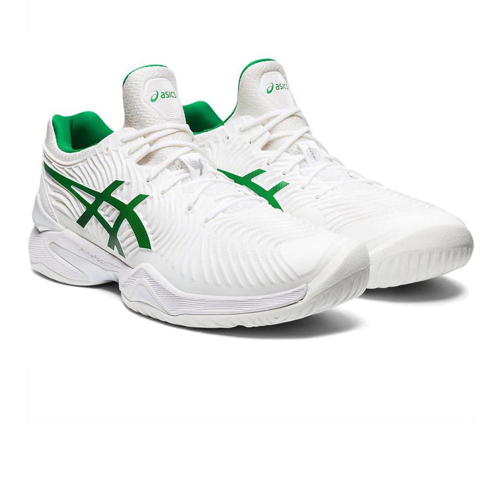 Asics Homme Cour FF Novak Chaussures De Tennis Blanc Sport ...