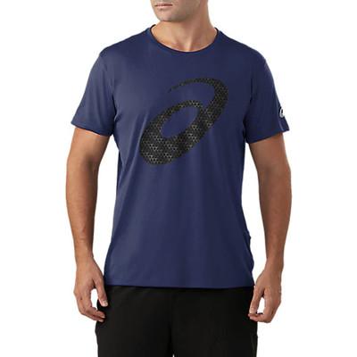 ASICS Silver Graphic T-shirt corsa