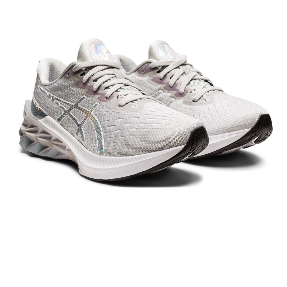 New In ASICS Novablast 2 Platinum Women's Running Shoes - AW21