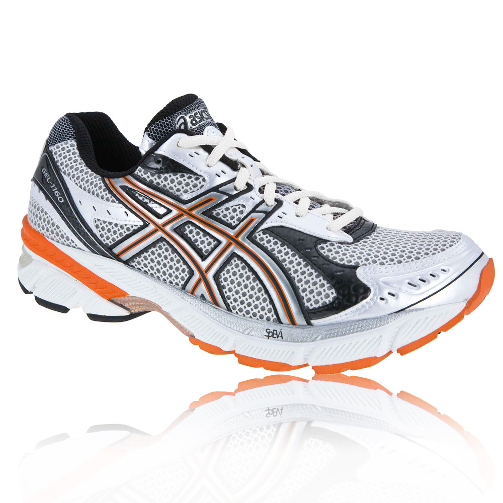Asics Red And Blue Running Shoes