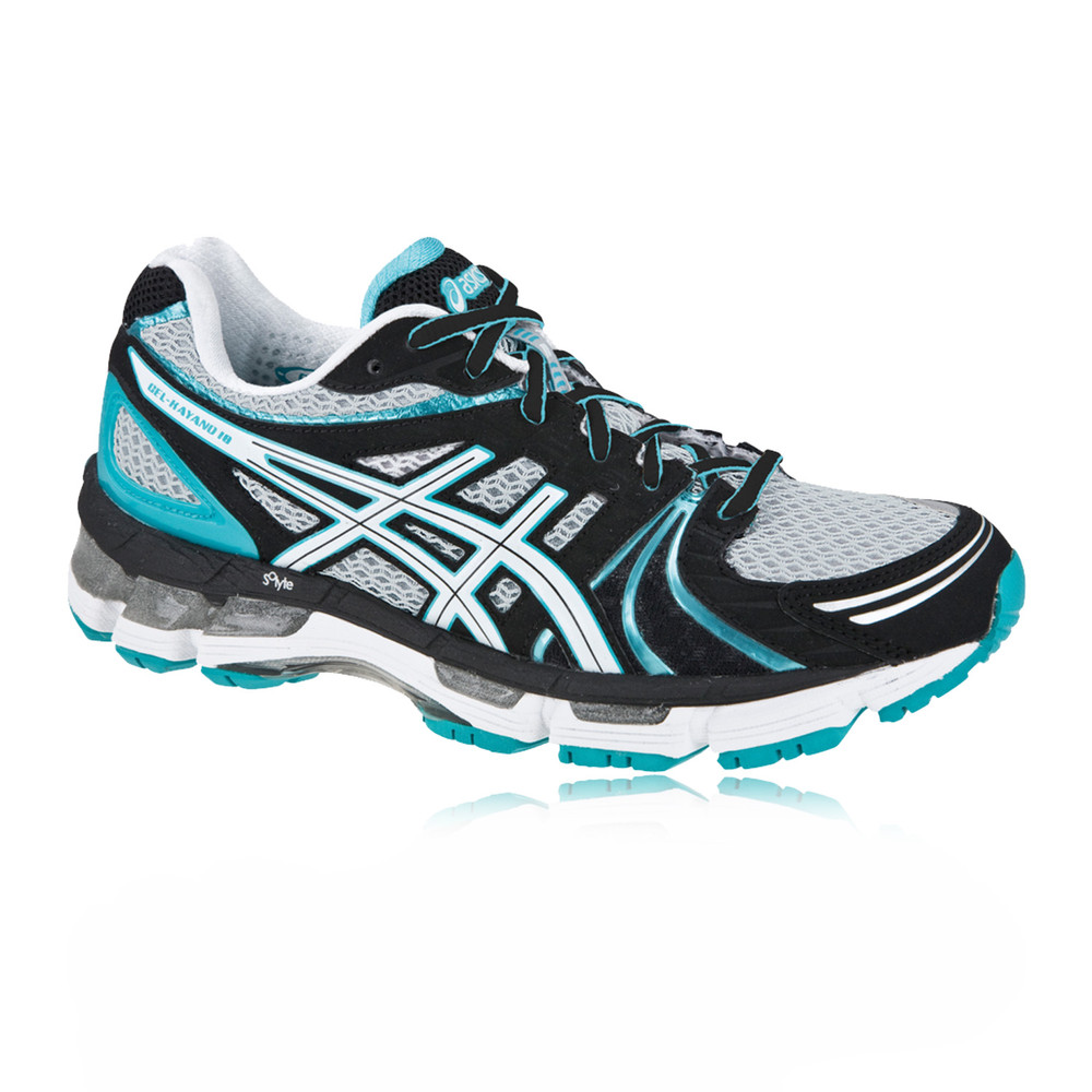asics gel kayano 18 black womens