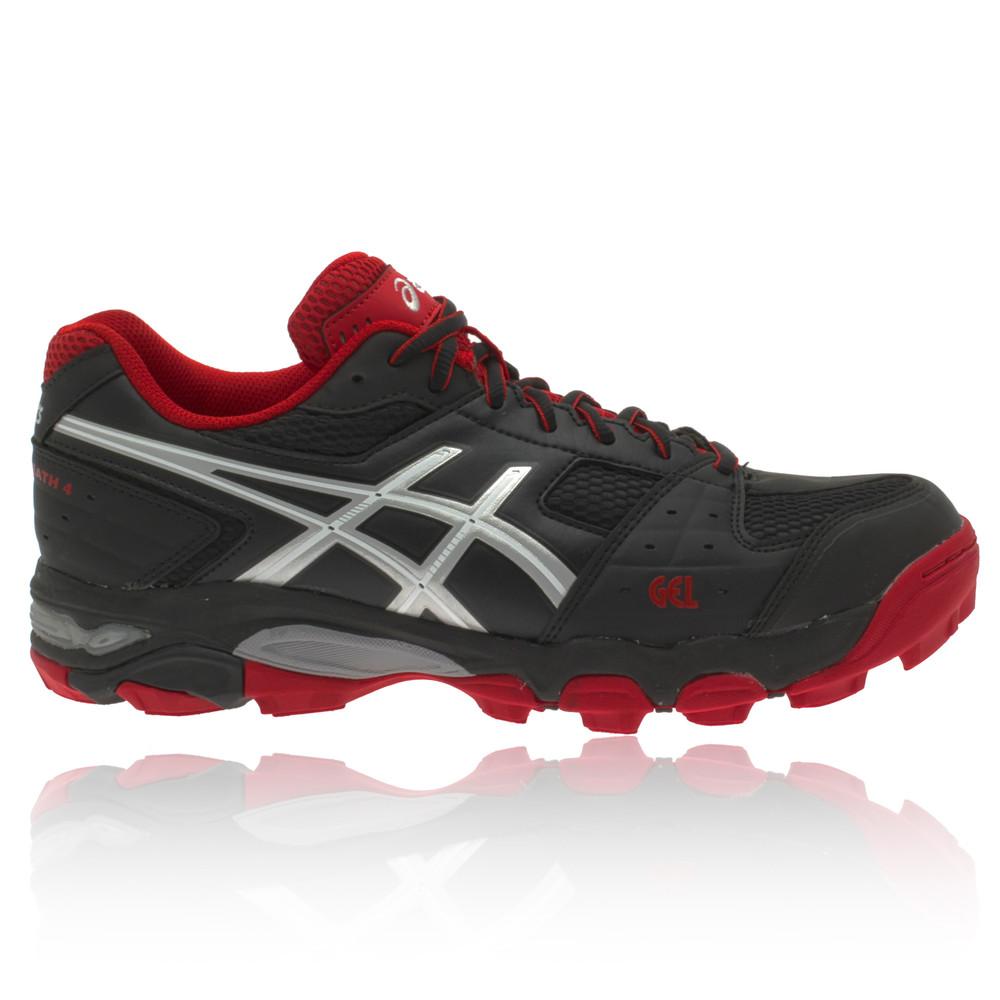 Asics-Gel-Blackheath-4-Hockey-Zapatos-Botas-Zapatillas-Deportivas-Hombre-Negro