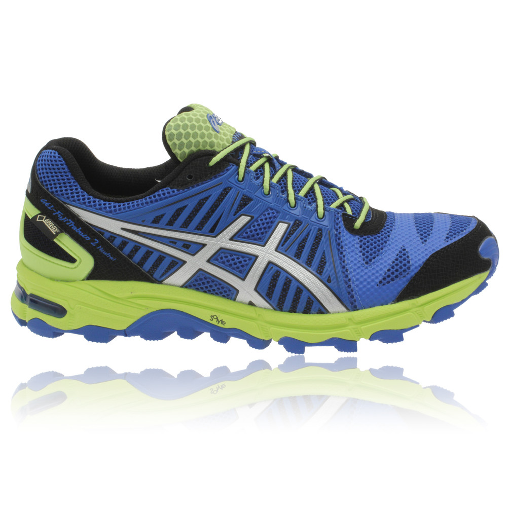 asics gel fuji trabuco neutral 2 gore tex running shoes. Black Bedroom Furniture Sets. Home Design Ideas