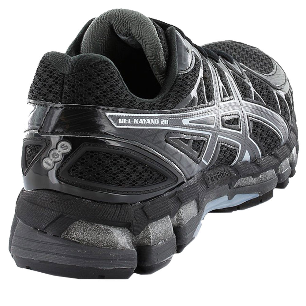 asics kayano 20 black