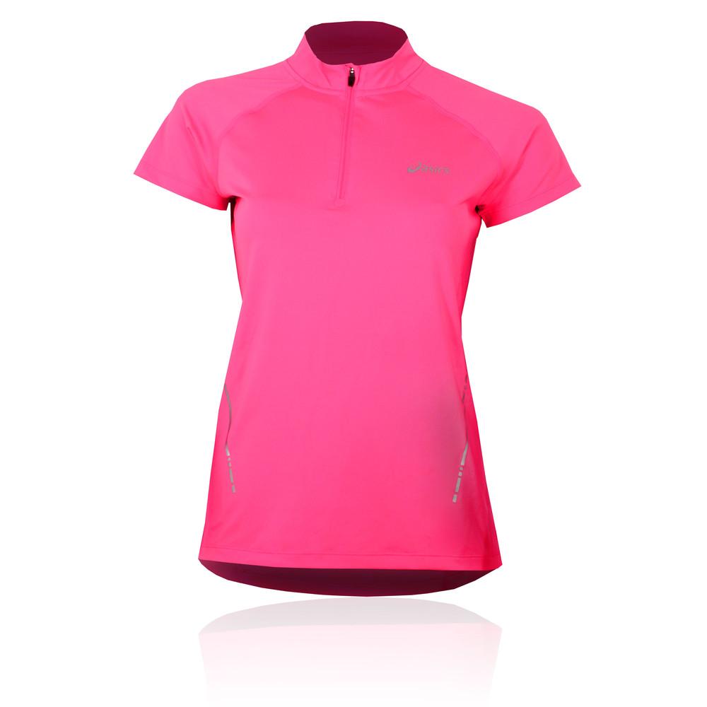 Asics Half Zip Women 39 S Running T Shirt
