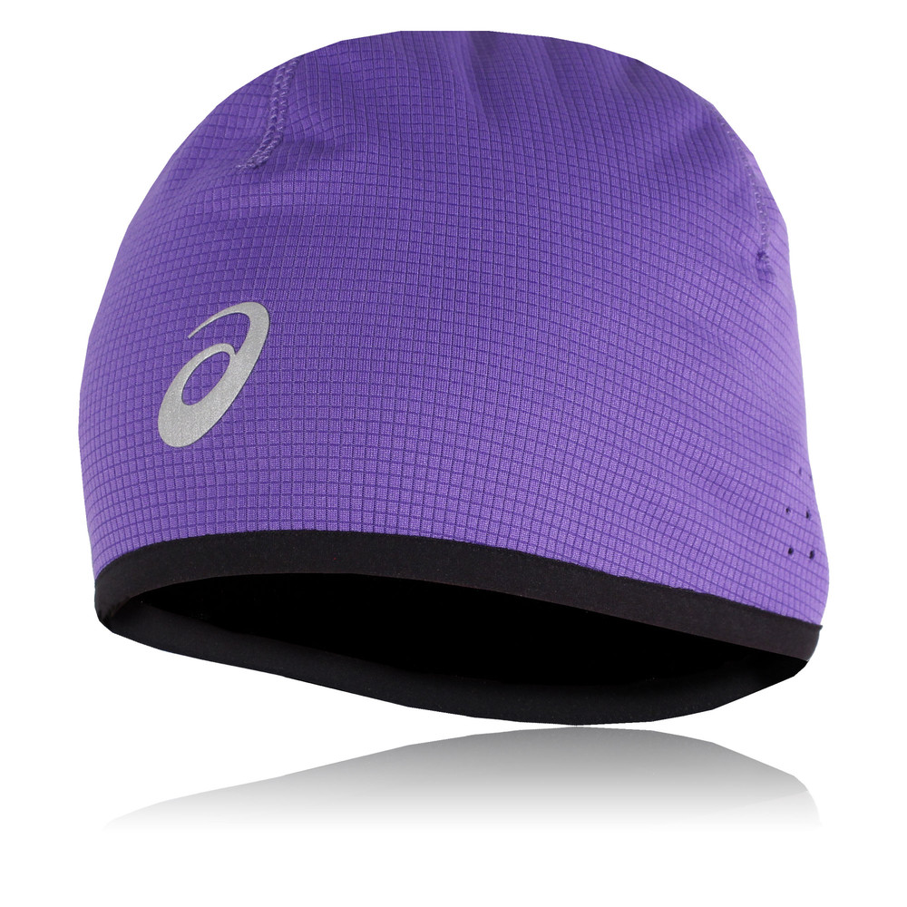 Asics Mens Womens Purple Running Training Breathable Lightweight Head Wear  Hat 19bf6935ce7