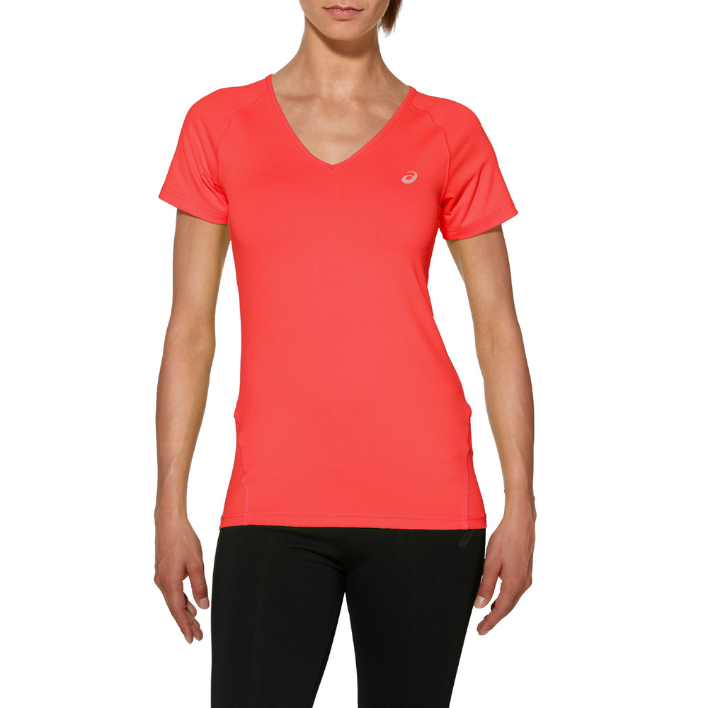 Asics performance women 39 s running t shirt for Women s running shirts